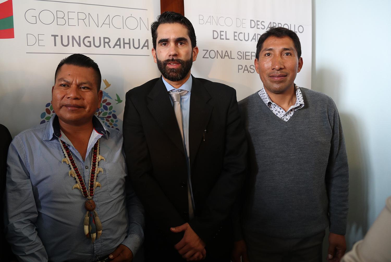 Reunión con funcionarios del Banco de Desarrollo