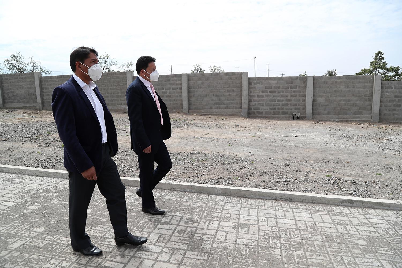 CONSTRUCCIÓN DE CERRAMIENTO EN EL NUEVO CEMENTERIO MUNICIPAL