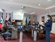 Reunión de mesa de trabajo para la implementación de Programa Municipios Saludables