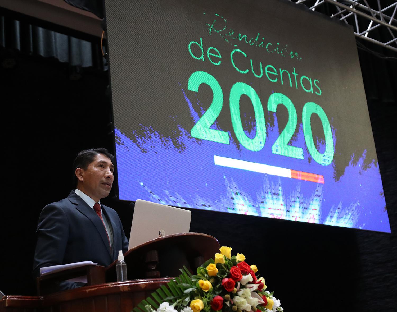 RENDICIÓN DE CUENTAS CORRESPONDIENTE AL PERÍODO 2020